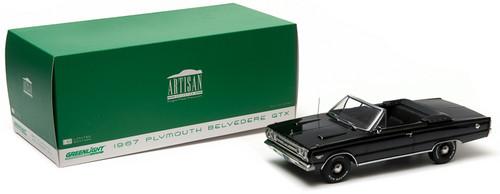 1:18 Artisan Collection - 1967 Plymouth Belvedere GTX Convertible - Black