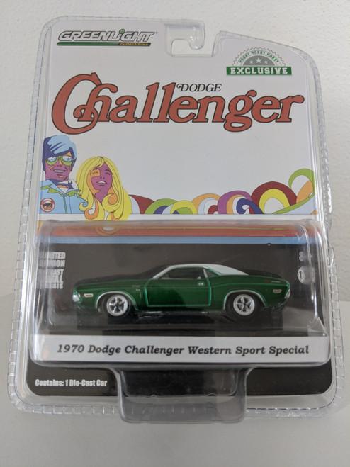 1:64 1970 Dodge Challenger - Western Sport Special (Hobby Exclusive) Green Machine