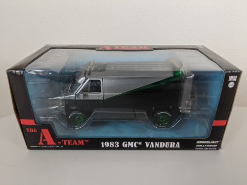 1:24 The A-Team (1983-87 TV Series) - 1983 GMC Vandura Green Machine