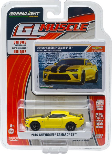 1:64 GL Muscle Series 16 - 2016 Chevy Camaro SS