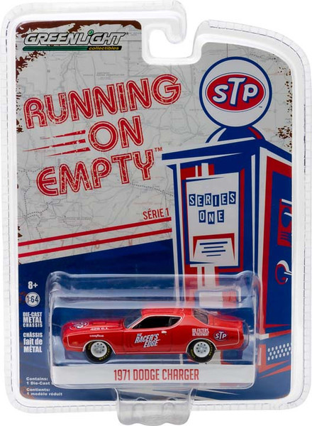 1:64 Running on Empty Series 1 - 1971 Dodge Charger - STP