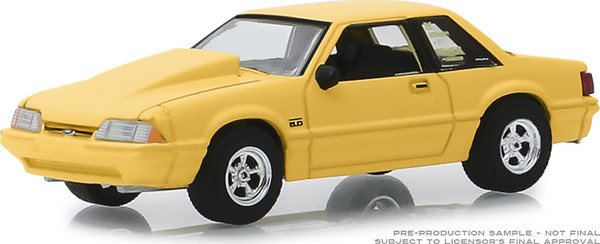 """1:64 BF Goodrich Vintage Ad Cars - Fox Body 1988 Ford Mustang 5.0 """"Our Engineering Lab Has A New Smoking Section"""" (Hobby Exclusive)"""