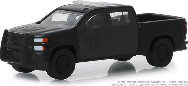 1:64 Black Bandit Series 21 - 2019 Chevrolet Silverado SSV Police Version