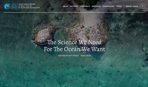 2021 - 2030 United Nations Decade of Ocean Science for Sustainable Development