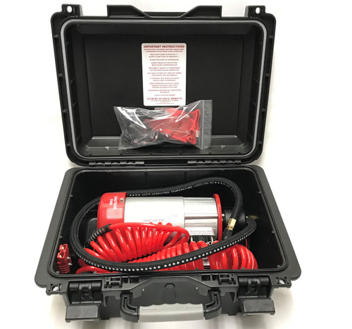 Extreme Outback ExtremeAire 12 Volt Portable Compressor Plastic Box