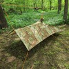 KoreTemp Poncho shelter setup A