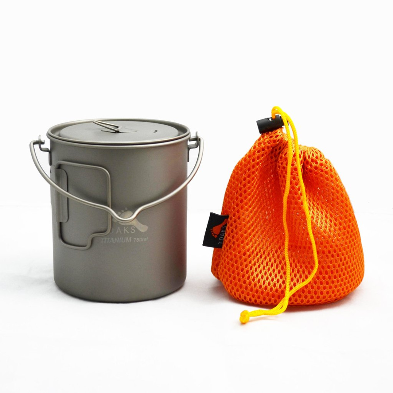 TOAKS Titanium 750ml Pot With Bail