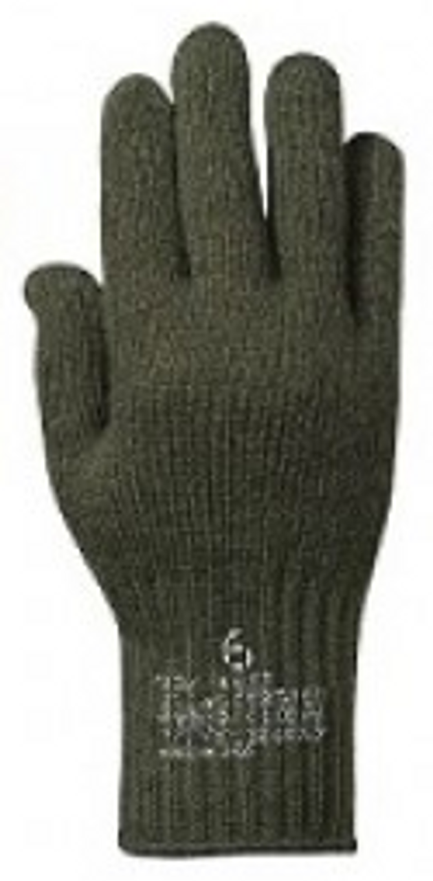 G.I. Wool Glove Liners (OD)