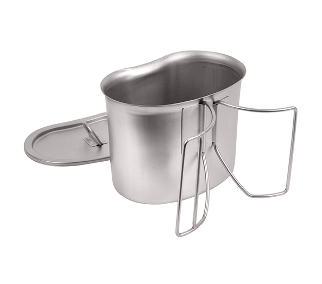 Stainless Canteen Cup/Cover Set