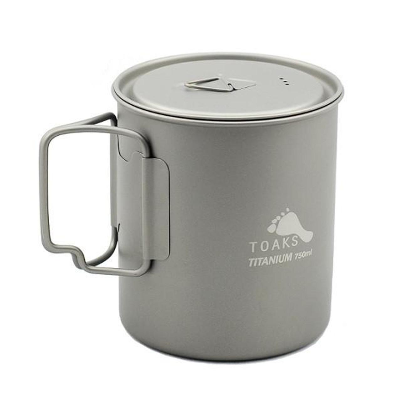 Toaks Titanium 750ml with handle