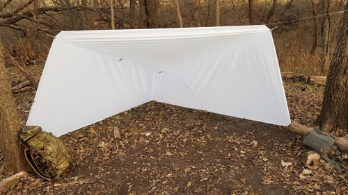 Winter White Tarp - 10'x10'