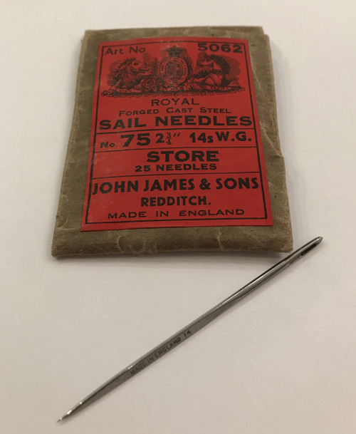 English Sail Needle #14