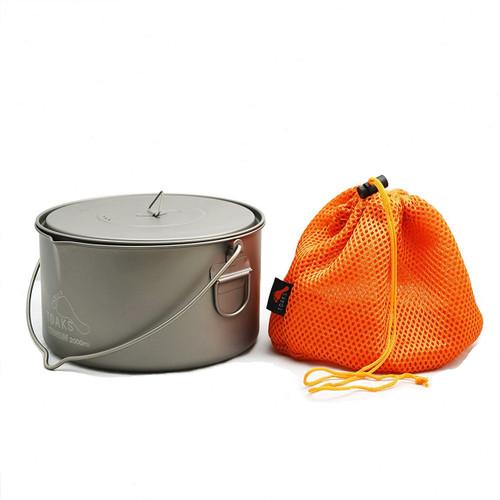 TOAKS Titanium 2000 ml pot with Bail