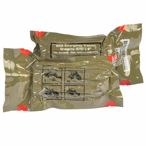 Emergency Trauma Dressing 6""