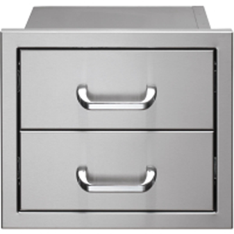 V2DR Built-In 2-Drawer System for Outdoor Kitchen