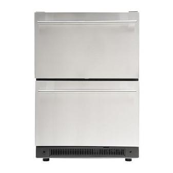Aficionado C123 Dual Drawer Refrigerator - Front View
