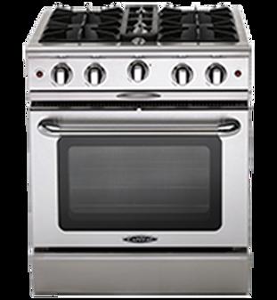 Capital Culinarian 30 Inch Gas Range MCOR304N