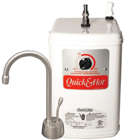 Satin Nickel Faucet Shown