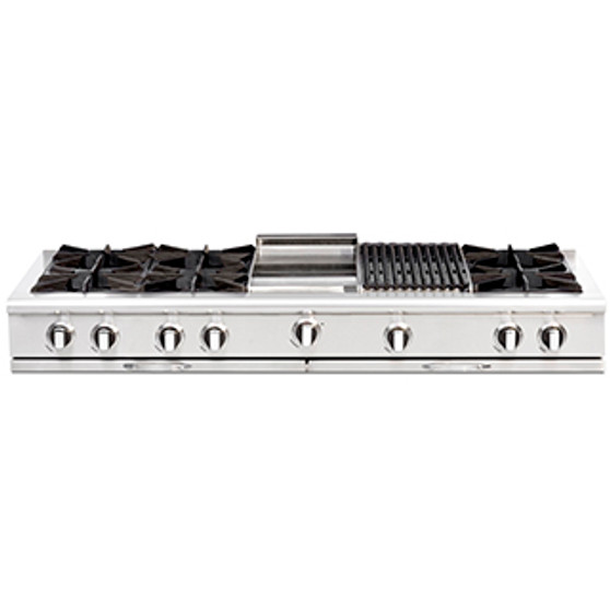 Capital Culinarian Series 60 Inch Cooktop CGRT604BB2N