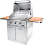 Capital Precision Series 30 Inch Freestanding Grill CG30RFSN - Front Angled View