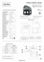 Alfa Opera Countertop Pizza Oven, Wood Fired (FOROPERATP-WOOD) - Spec Sheet