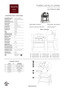 Alfa Achille Pizza Oven, Wood-Fired (FORACHI-WOOD) - Spec Sheet