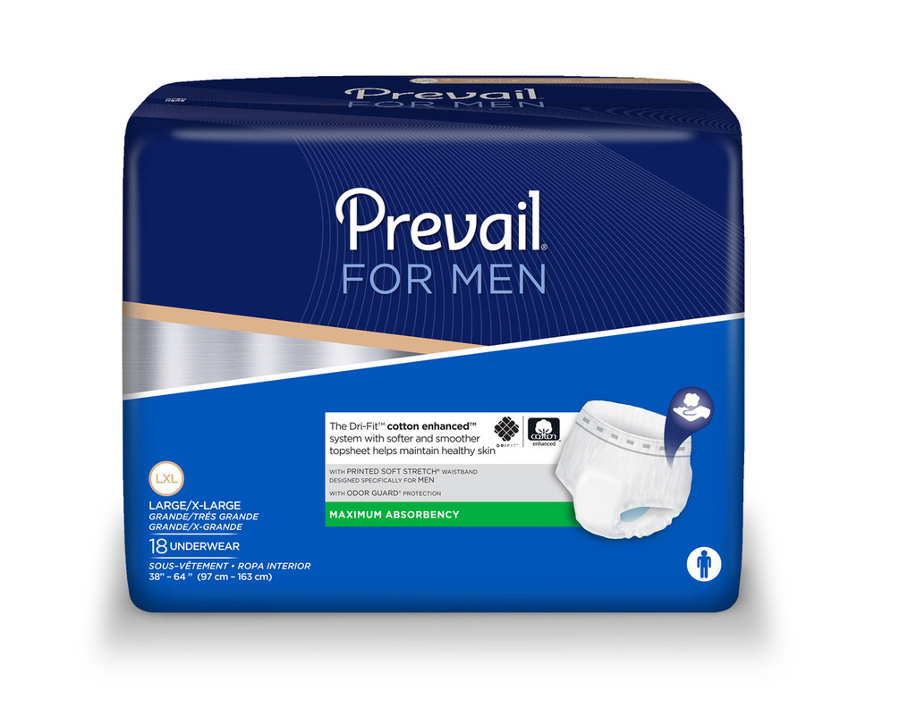 Prevail for Men, Large/X-Large