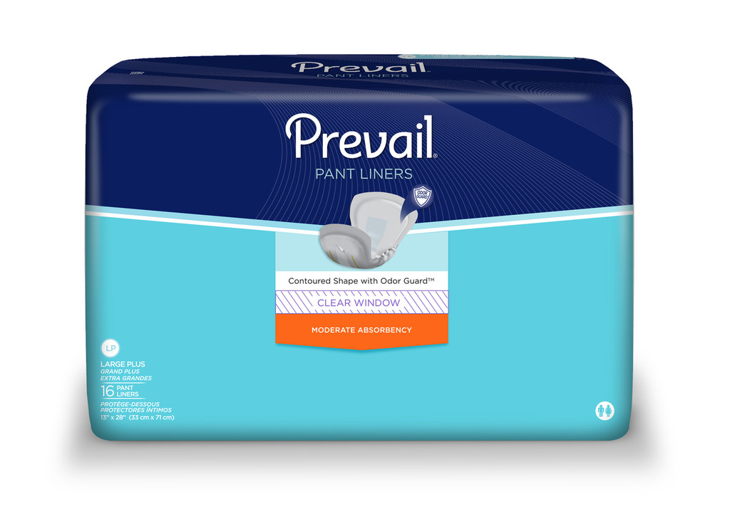 Prevail Large Plus Pant Liners, New Look!