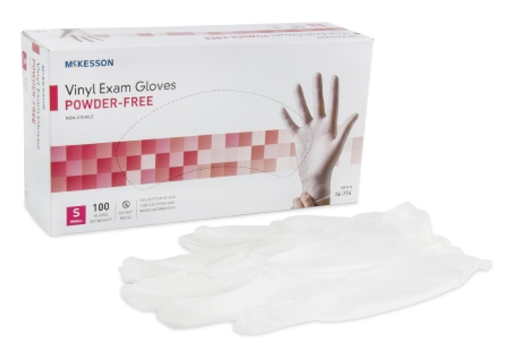 Latex-Free Vinyl Exam Gloves