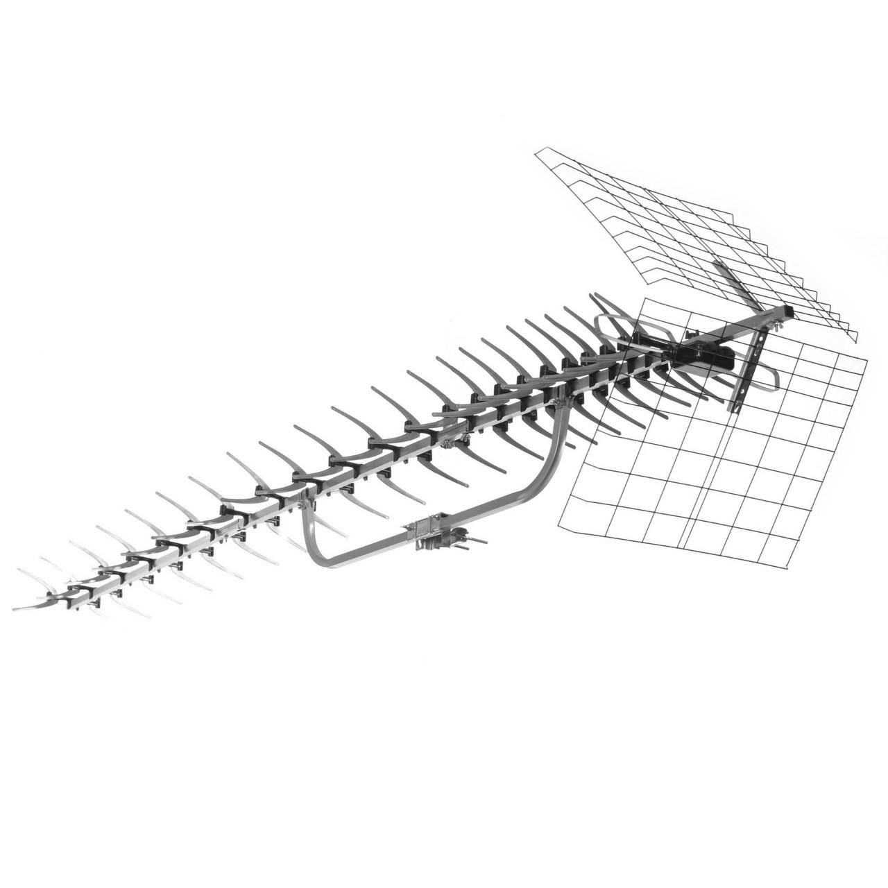 91XG Unidirectional Long-Range UHF Attic/Outdoor HDTV Antenna