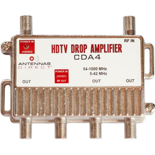 4 Output TV / CATV Distribution Amplifier