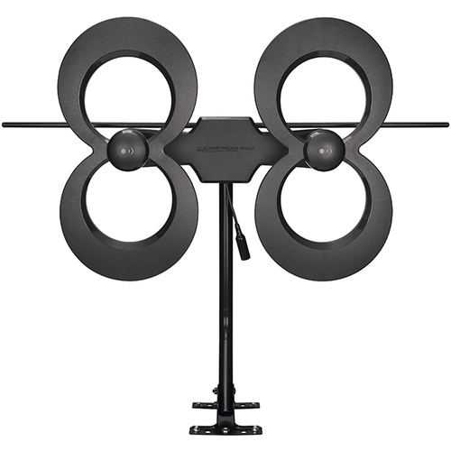 ClearStream 4MAX® UHF/VHF Indoor/Outdoor HDTV Antenna with 20inch Mast