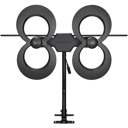 "ClearStream 4MAX® UHF/VHF Indoor/Outdoor HDTV Antenna with 20"" Mast"