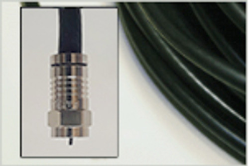 RG6 Low-Loss Copper Coated Steel Coaxial Cable - 30'