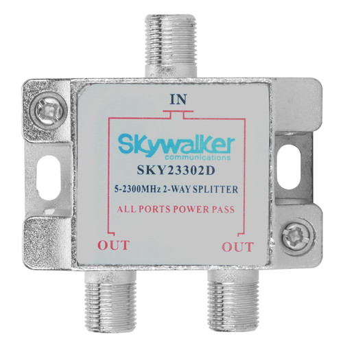 2-Way Power Pass Splitter for Over-The-Air Signals
