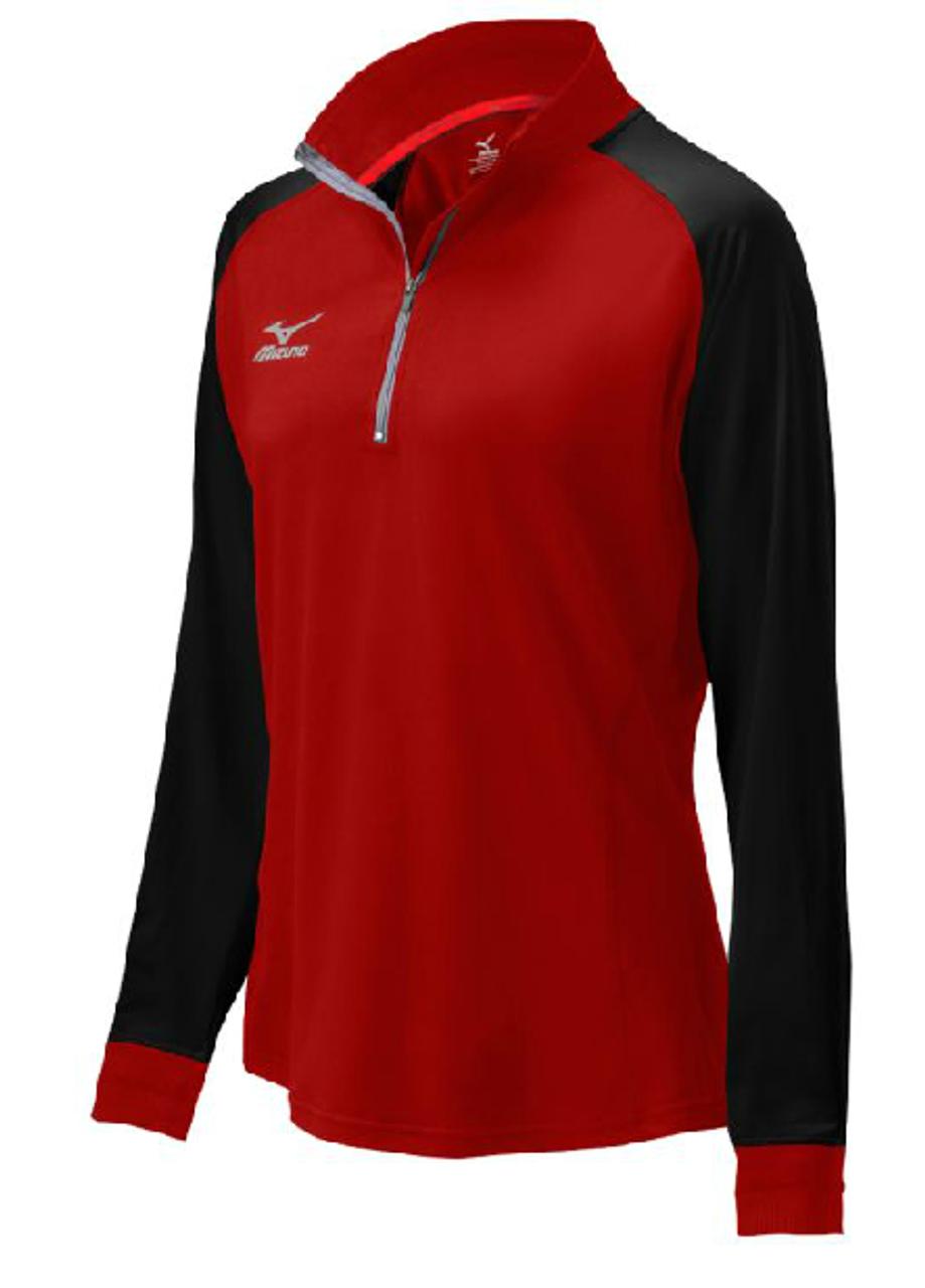 Mizuno Women s Elite 9 Prime 1 2 Zip Jacket - Real Volleyball 82164c84ee