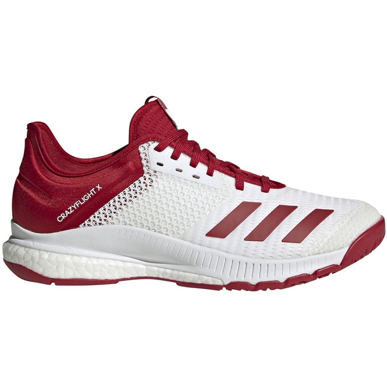 Women Adidas Crazyflight X3 White/Power Red
