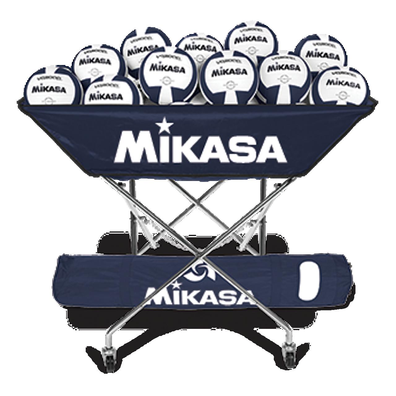 Scarlet Tachikara Hammock Volleyball Cart with Nylon Carry Bag