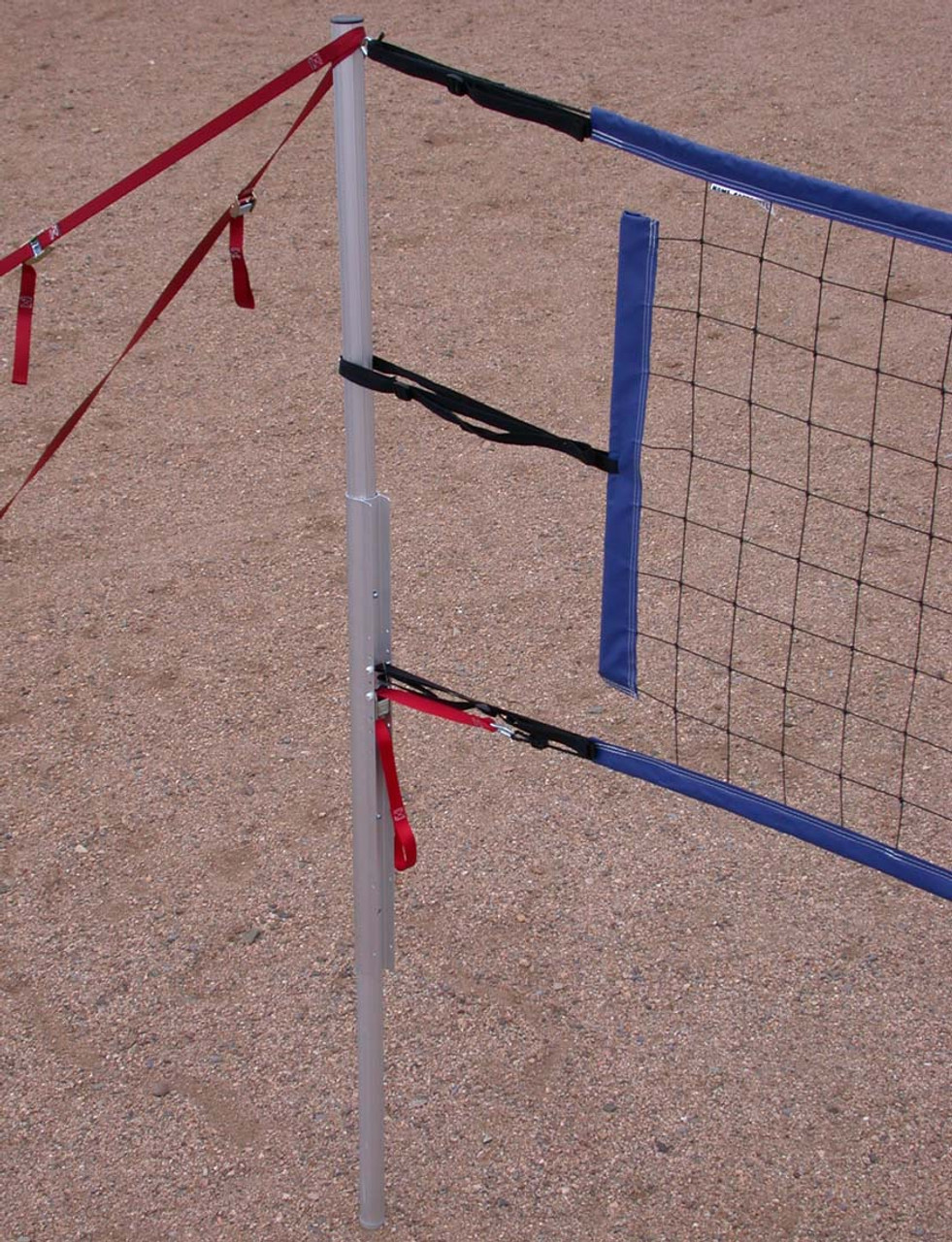 PRO4 Home Court Volleyball Power Net Aircraft Cable Top//Bottom