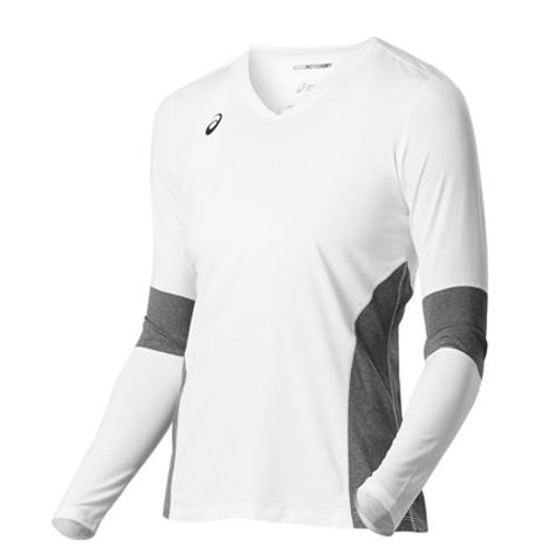2377177db8d RealVolleyball   Asics Women's Decoy Long Sleeve Jersey   Asics Jerseys