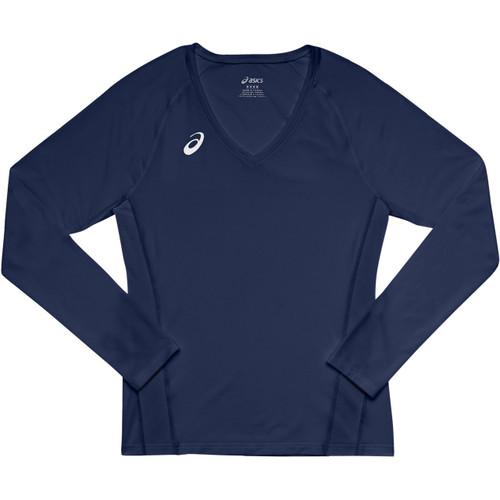 992bef0d705 Asics Women's Spin Serve Volleyball Jersey Long Sleeve