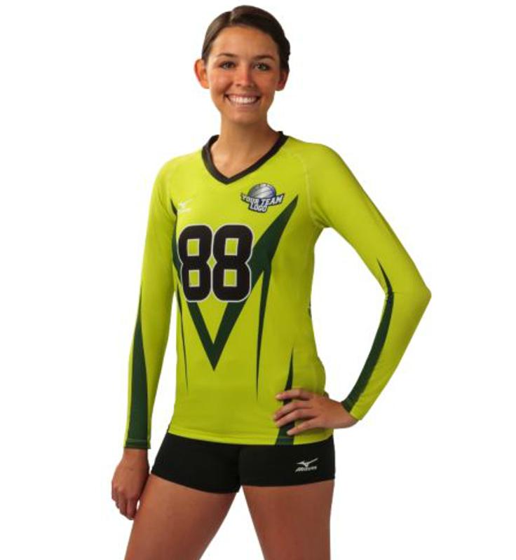 mizuno volleyball uniform creator junior