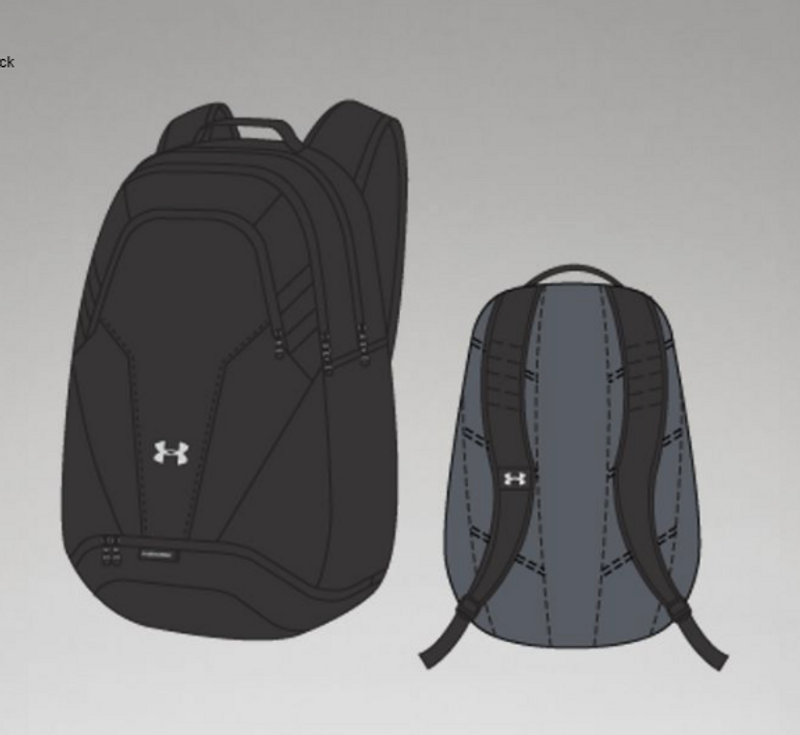 f1584868ee RealVolleyball | Under Armour Team UA Hustle 3.0 Backpack | Under ...