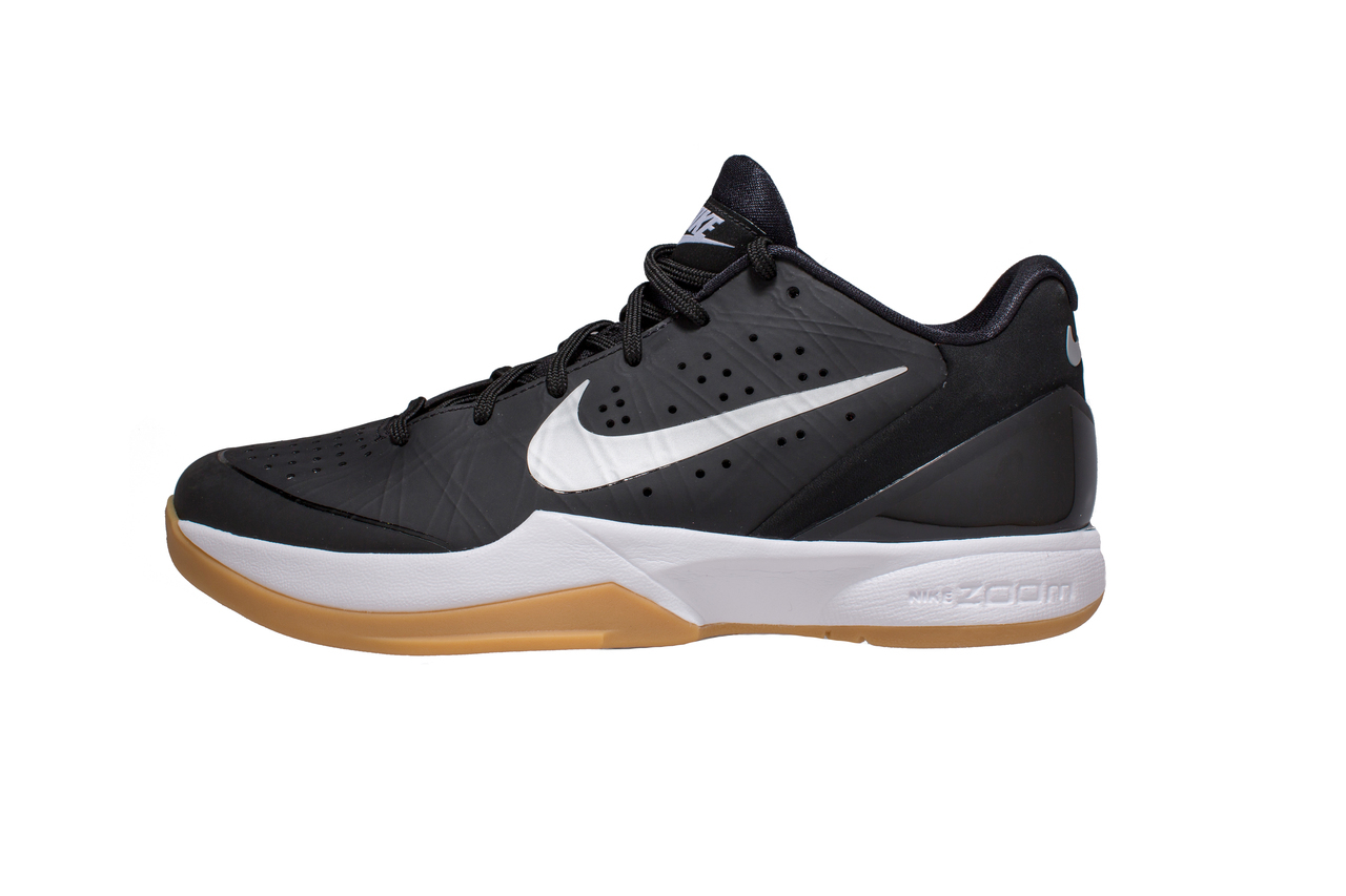 size 40 d242c 0b069 Nike Air Zoom Hyperattack Volleyball Shoe (Black Silver)