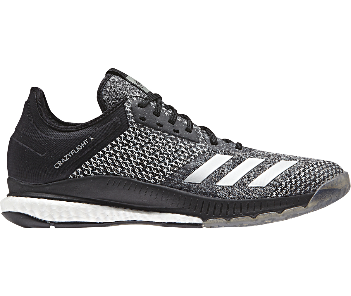 buy popular b2aba 67d71 Adidas Women s Crazyflight X 2 (Black Silver Met. FTWR White)