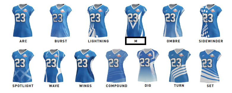 mizuno volleyball custom jerseys