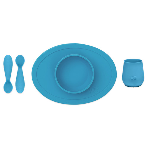 Blue Tiny First Foods Set