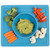 Great everyday mat, as you can pop the Happy Bowl with food directly in the microwave or serve cold meals
