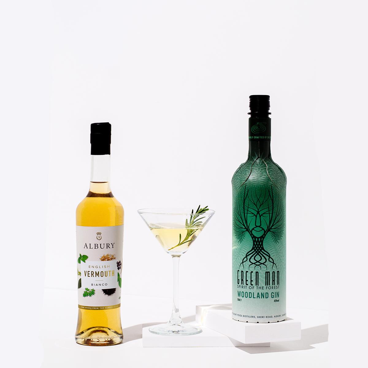 Green Man Martini