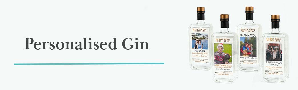 Personalised Gins Header Image